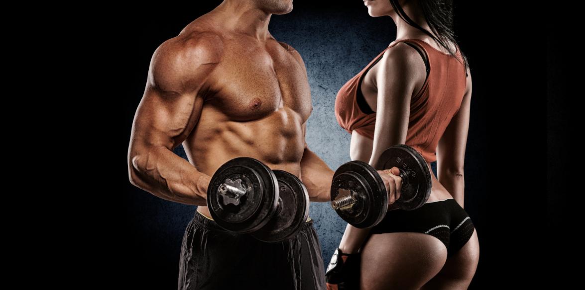 para na siłowni