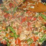 Kurczak chińsko-włoski