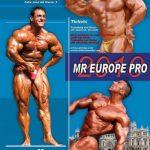 Mr Europe Pro 2010 – wyniki!