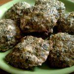 Szpinakowo-mięsne placuszki