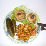 [LC] Pierś z kurczaka z pieczarkami faszerowanymi serem