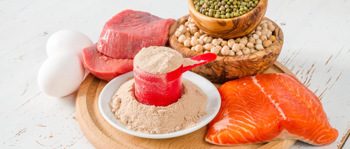 białko jedzenie łosoś