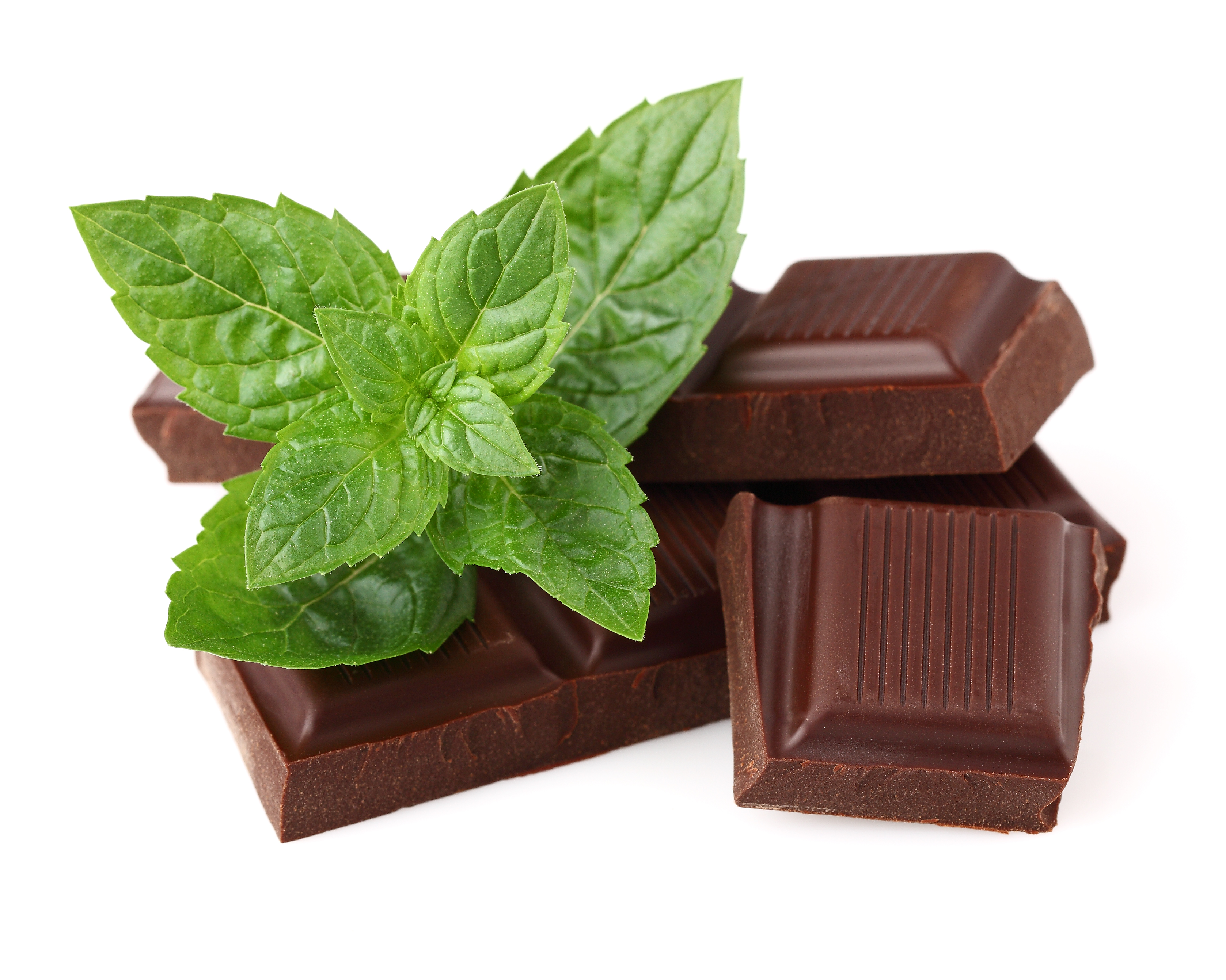 Chocolate with mint