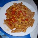 Pyszny kurczak z makaronem