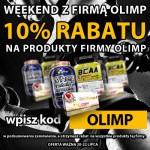 Rabat 10% na cały asortyment firmy Olimp!