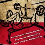 III Mistrzostwa Polski Nauczycieli w Wyciskaniu Wielokrotnym Sztangi Leżąc