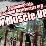 Zawody muscle up – podciaganie, pompki