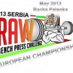 Serbia 2013-RAW Bench Press Challange – Mistrzostwa Europy