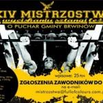 XIV Mistrzostwa w WL – BRWINÓW 08 czerwca 2013