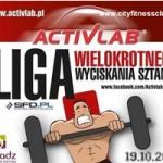 POLSKA LIGA WYCISKANIA WIELOKROTNEGO ZAWODY 19.10.2013 W SIERADZU
