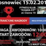 Liga Wyciskania Sztangi zawita do Sosnowca