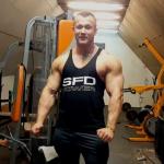 """Dymitr Zasada AllNutrition Team """"pakuje"""" łapy!!"""