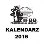 Kalendarz 2016 IFBB PRO