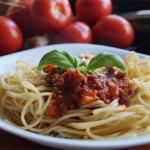 Spaghetti bolognese szefowej kuchni sfd