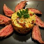 """""""Dieta prawdziwego faceta"""" czyli stek z łaty wołowej"""