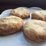 4 składnikowe ciasteczka kokosowe