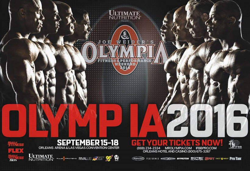 mister olympia 2016