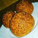 Pełnoziarniste bułeczki twarogowo-marchewkowe z siemieniem lnianym by MichalinaMM