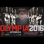 Mr. Olympia 2016 – lista zawodników