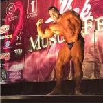 Steve Kuclo – gościnnie pozował na zawodach  NPC Pink Muscle Fest 2016