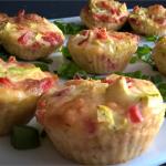 Babeczki warzywne z mozzarellą by blue_hope