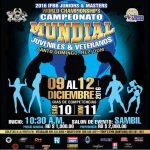 Wyniki – Mistrzostwa Świata Juniorów i Weteranów – Santo Domingo, Dominikana
