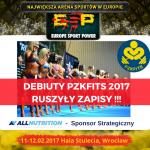 Ruszyły zapisy na Debiuty kulturystyczne PZKFiTS – IFBB 2017!