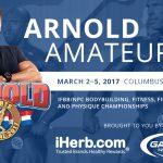 Aktualna lista zawodników na Arnold Classic 2017, Columbus, USA