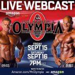 Mr. Olympia 2017 – transmisja na żywo