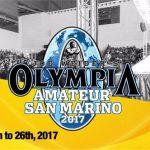 San Marino Pro 2017 – lista zawodników