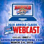 Transmisja zawodów Arnold Classic 2018