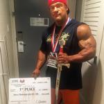 Nicolas Vullioud wygrywa  Tampa Pro i kwalifikacje do Mr Olympia 2018