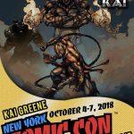"""Kai Greene  wydał komiks """"Chronicles Of King Kai"""""""