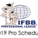 Harmonogram zawodów  Pro League 2019