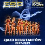 Zjazd Debiutantów PZKFITS 2017  – 2019 na Europe Sport Power!