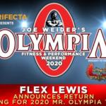 Flex Lewis wystartuje w Mr. Olympia OPEN!